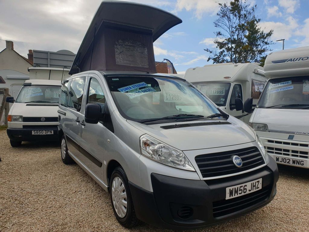 Fiat Sorry now sold Van Conversion Fiat scudo
