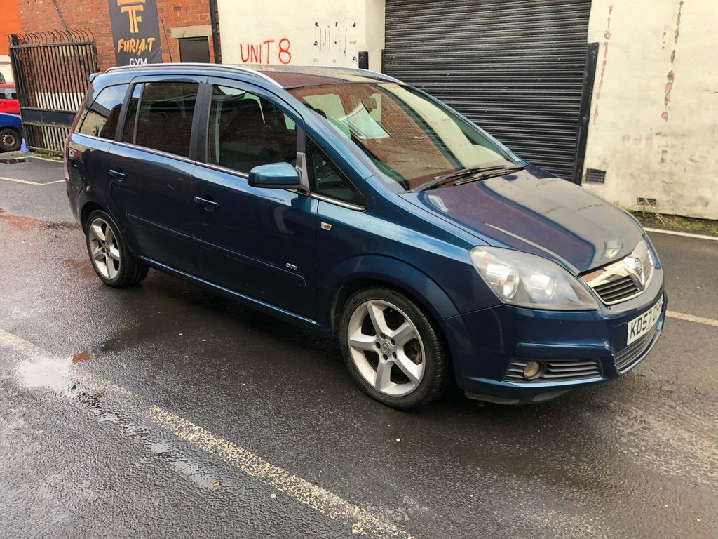 Vauxhall Zafira MPV 1.9 CDTi SRi 5dr