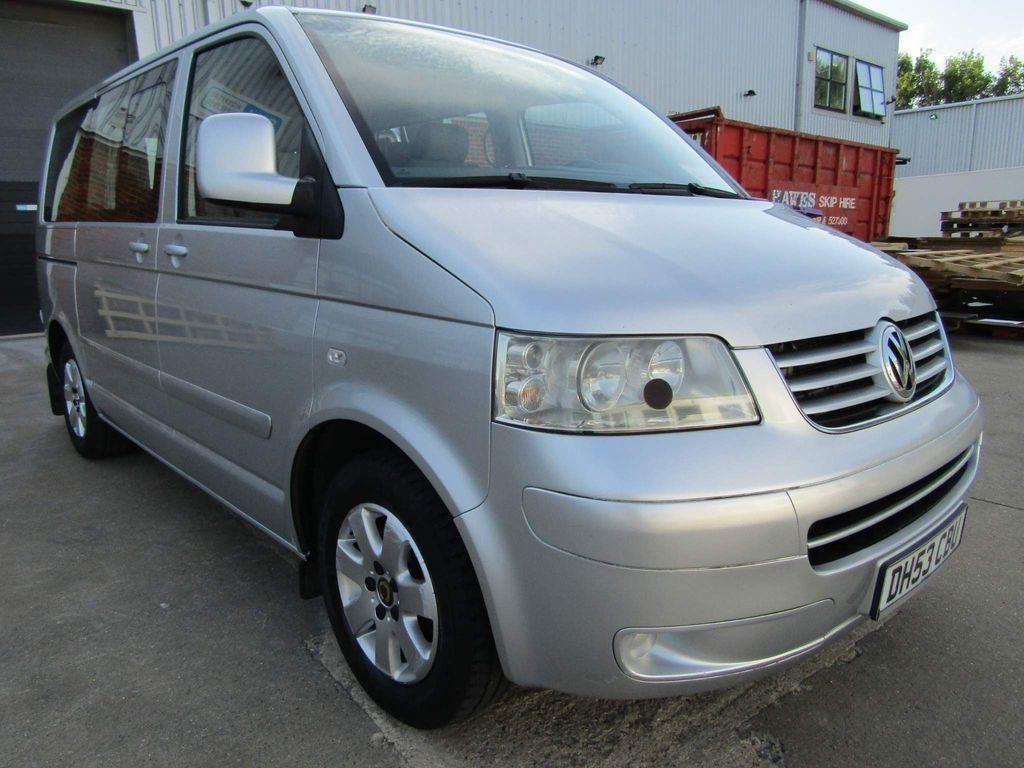 Volkswagen Transporter Unlisted 2.5 TDi 128 BHP MULTIVAN 7 SEATER 5 DR