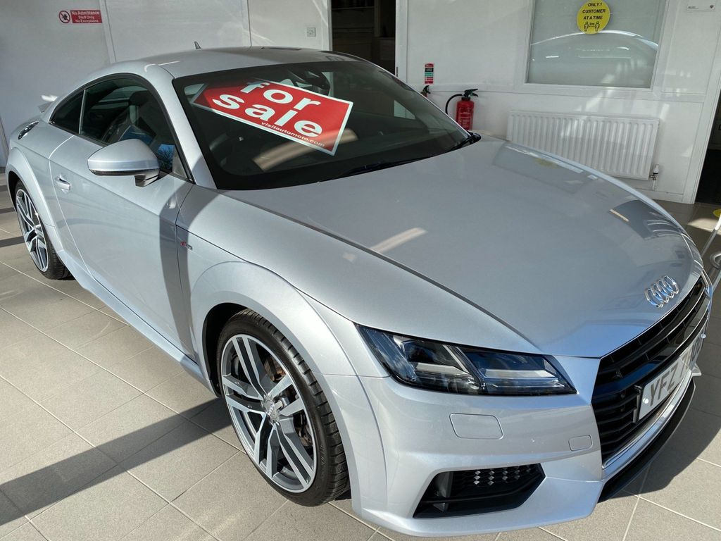 Audi TT Coupe 2.0 TFSI S line (s/s) 3dr