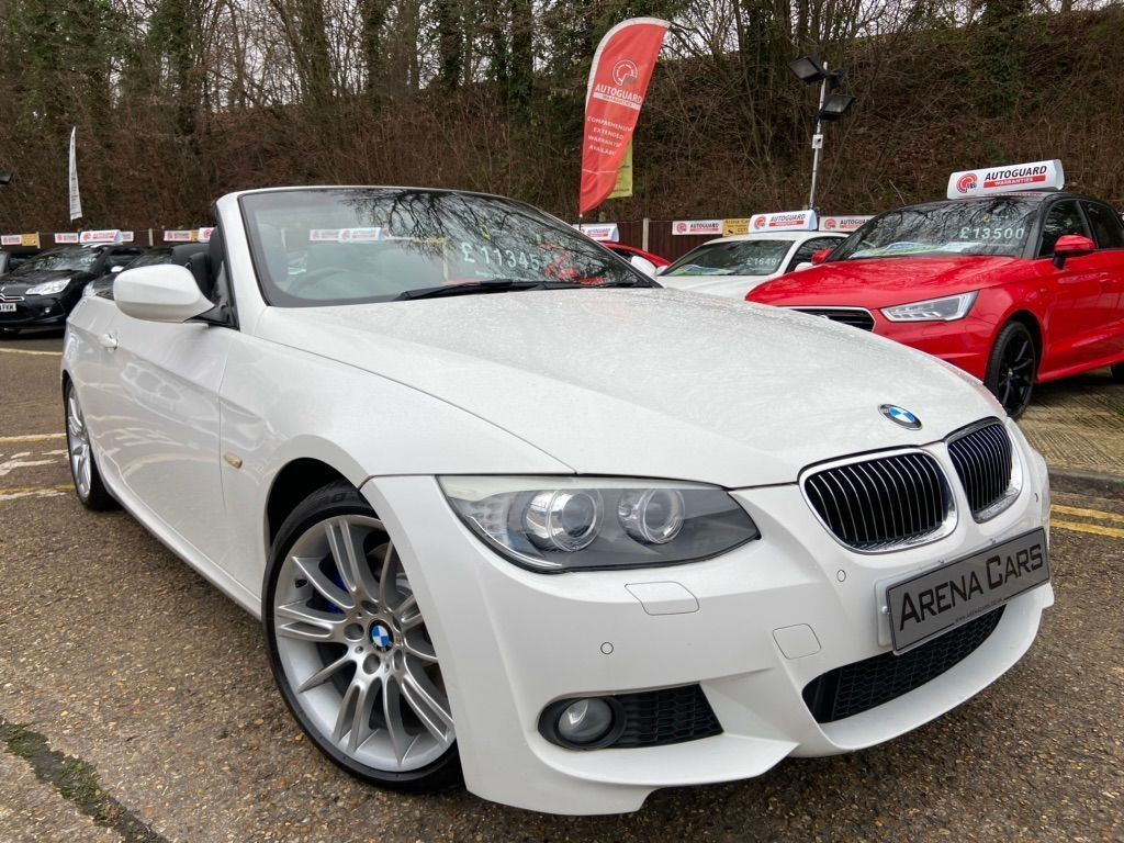 BMW 3 Series Convertible 3.0 330d M Sport 2dr
