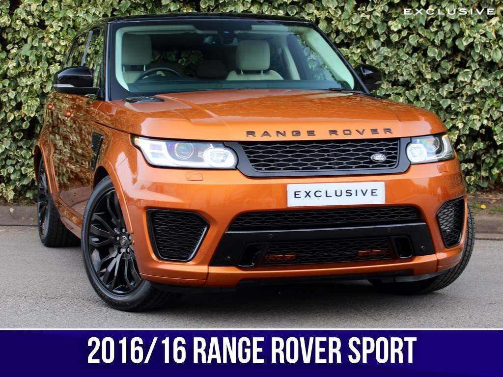 Land Rover Range Rover Sport SUV SDV6 EXCLUSIVE SVR Edition