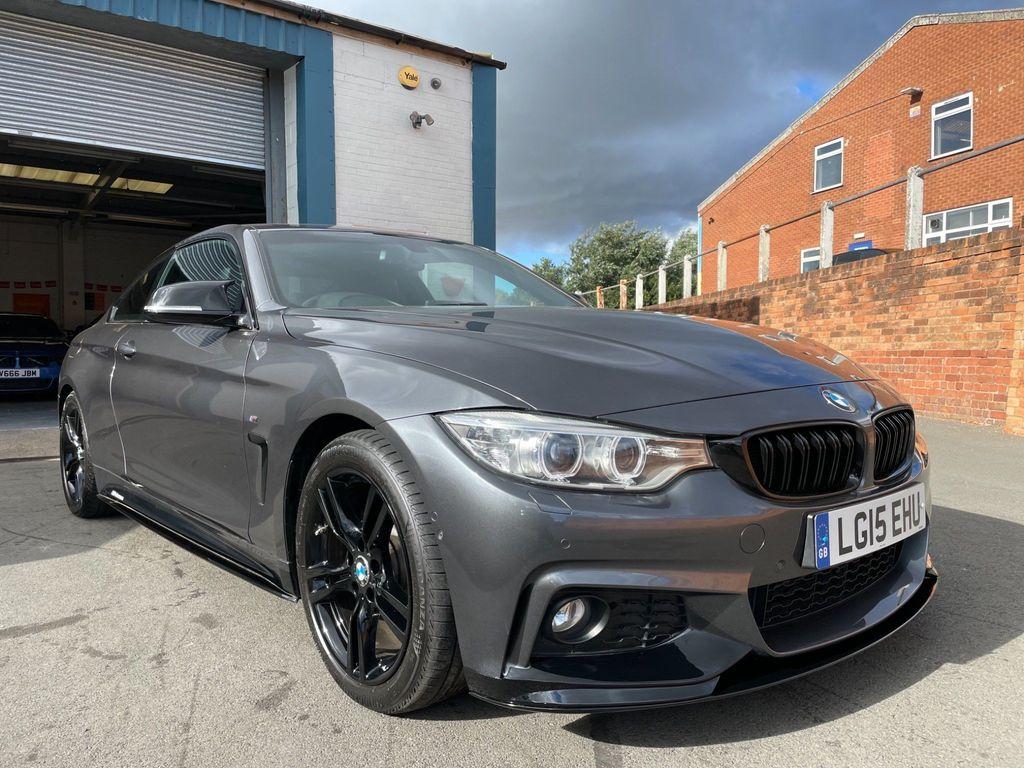 BMW 4 Series Coupe 2.0 425d M Sport Auto (s/s) 2dr