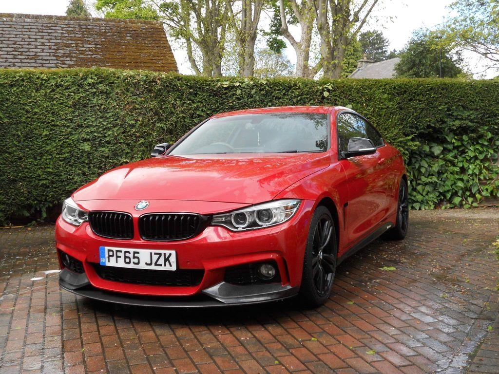 BMW 4 Series Coupe 2.0 420d M Sport 2dr