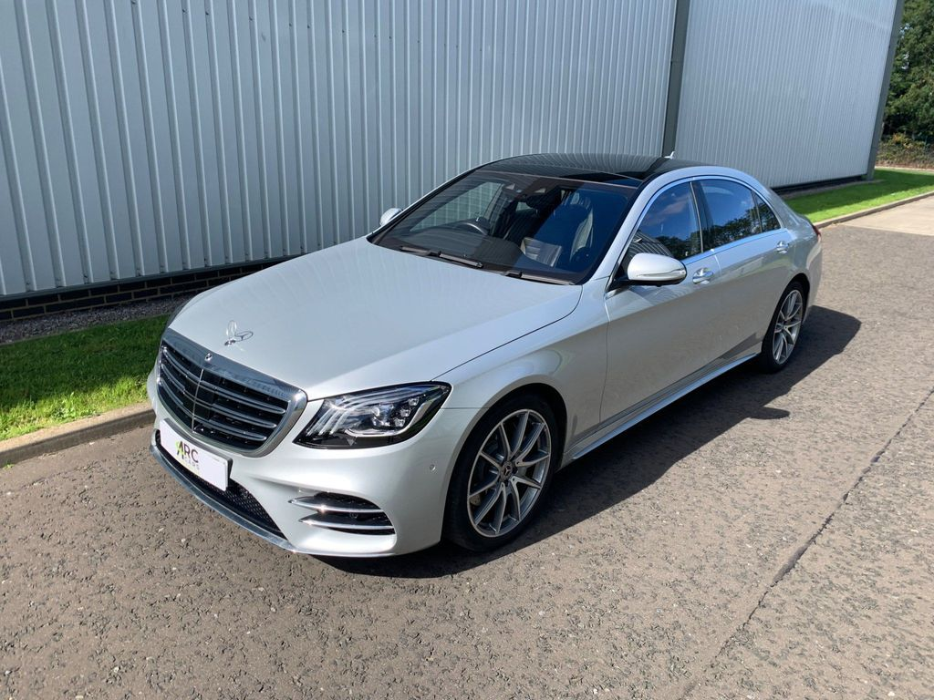 Mercedes-Benz S Class Saloon 3.0 S500L EQ Boost AMG Line (Executive, Premium) G-Tronic+ (s/s) 4dr
