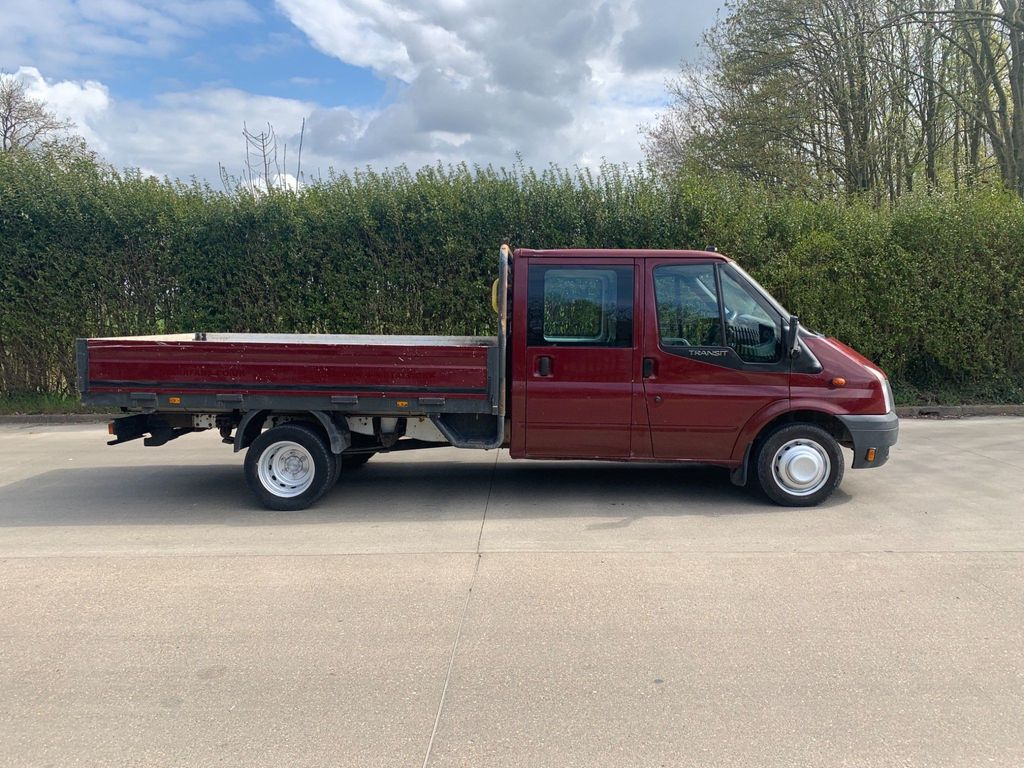 Ford Transit Dropside 2.4 TDCi 460 Duratorq Crewcab Chassis RWD EF 2dr (DRW, Extended Frame)