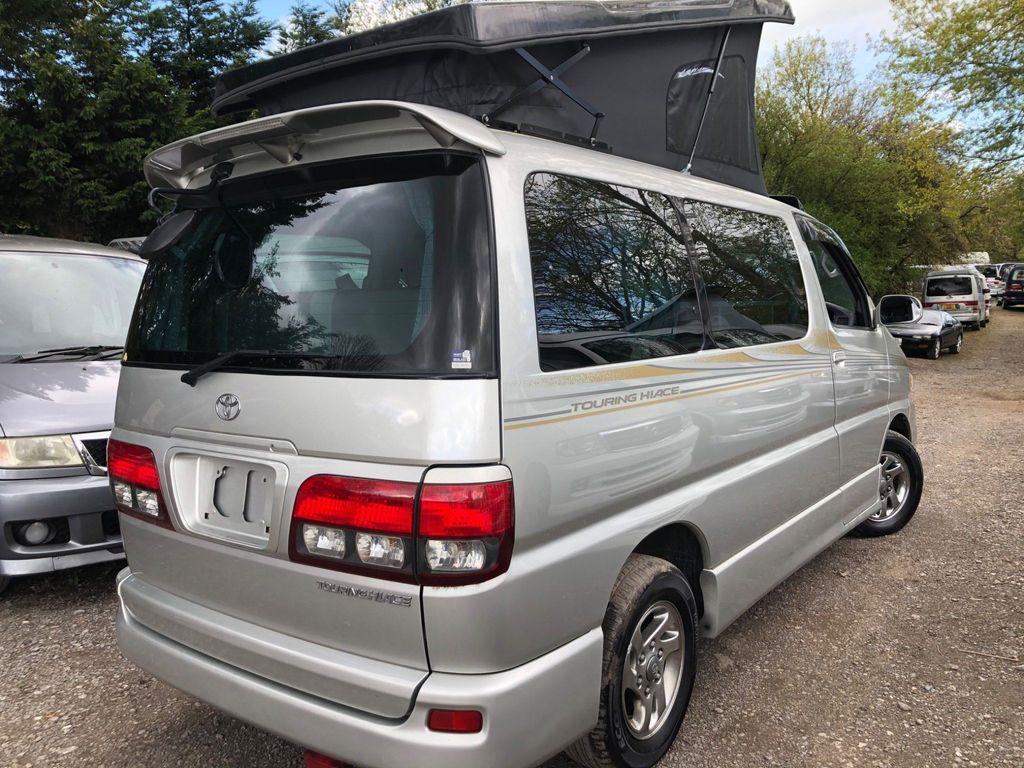Toyota HIACE REGIUS POP TOP 4 BERTH NEW SLIMLINE CAMPER Campervan RUST FREE LOW LOW MILES 17K