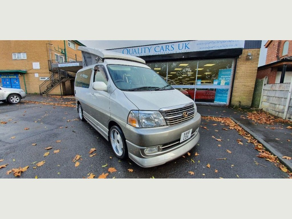 Toyota HiAce Motorhome 3.0 Diesel TOURING POPTOP ONE OFF CUSTOM CONVERSION