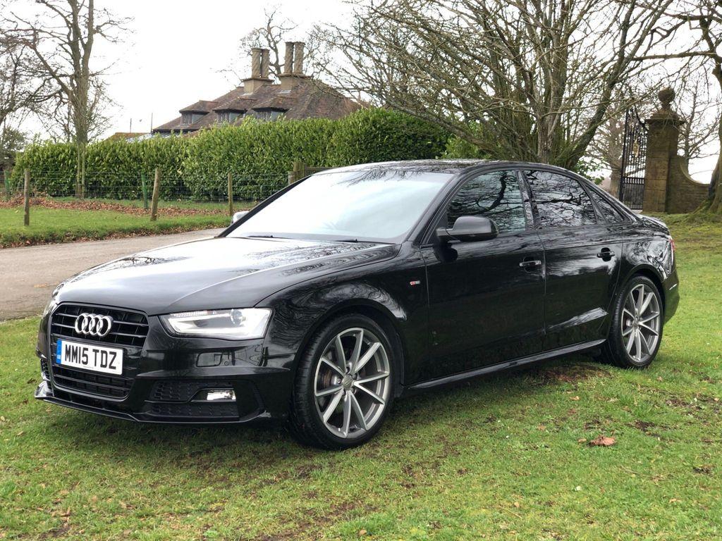 Audi A4 Saloon 2.0 TDI Black Edition Plus 4dr
