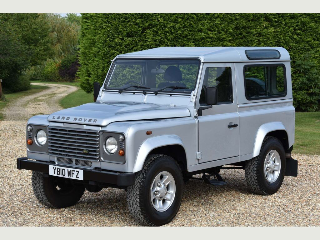 Land Rover Defender 90 SUV 2.4 TDi County Hard Top 4X4 3dr