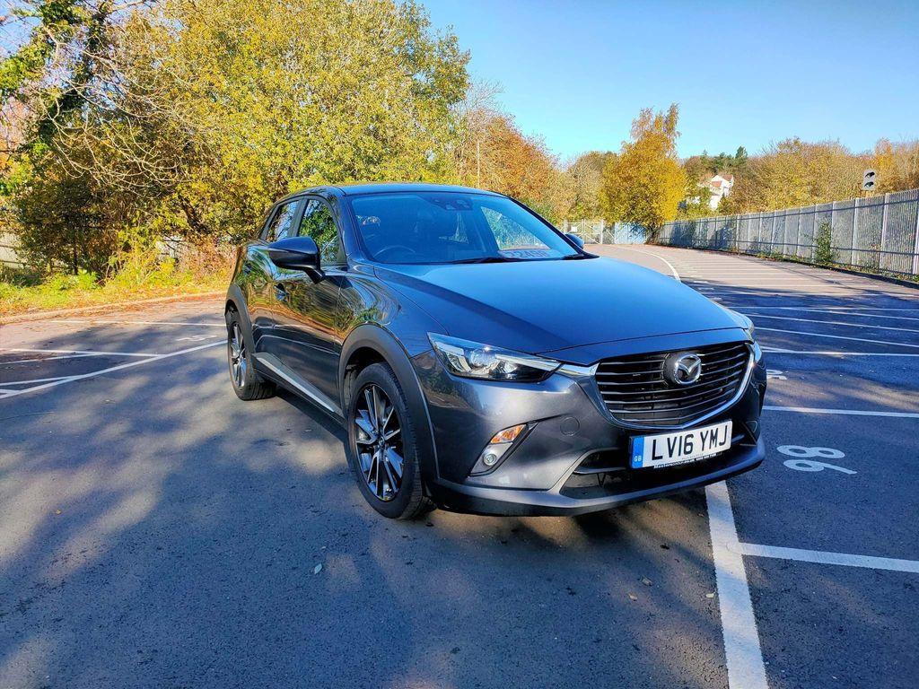 Mazda CX-3 SUV 2.0 SKYACTIV-G Sport Nav Auto (s/s) 5dr