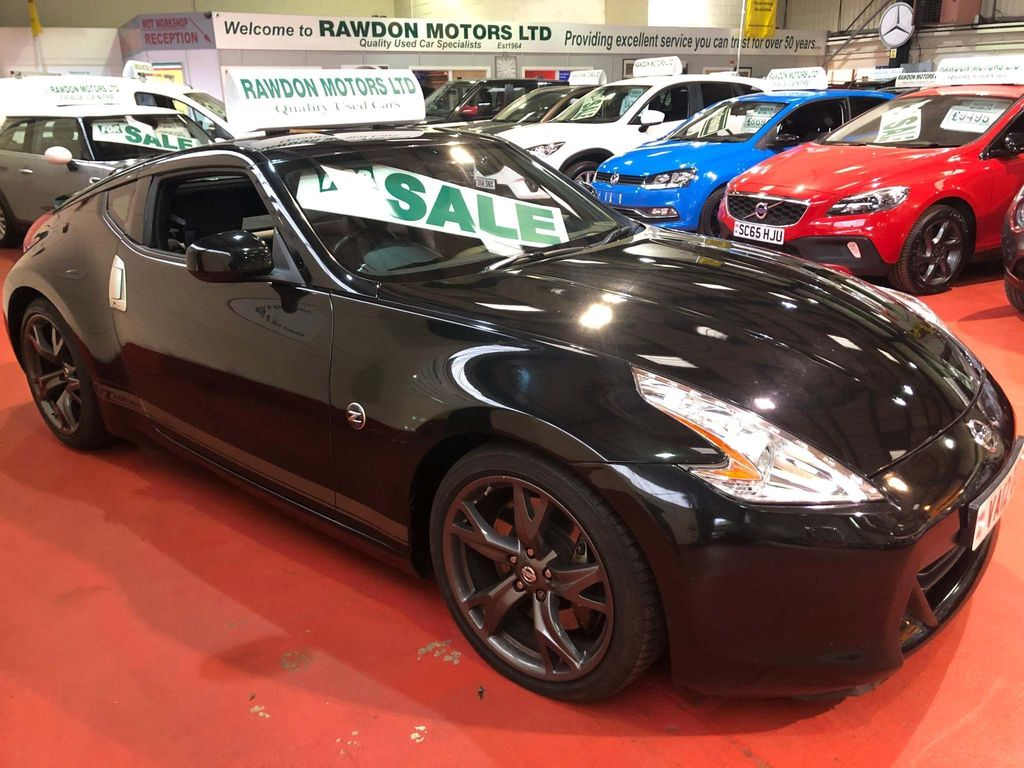Nissan 370 Z Coupe 3.7 V6 GT Edition SiV 3dr