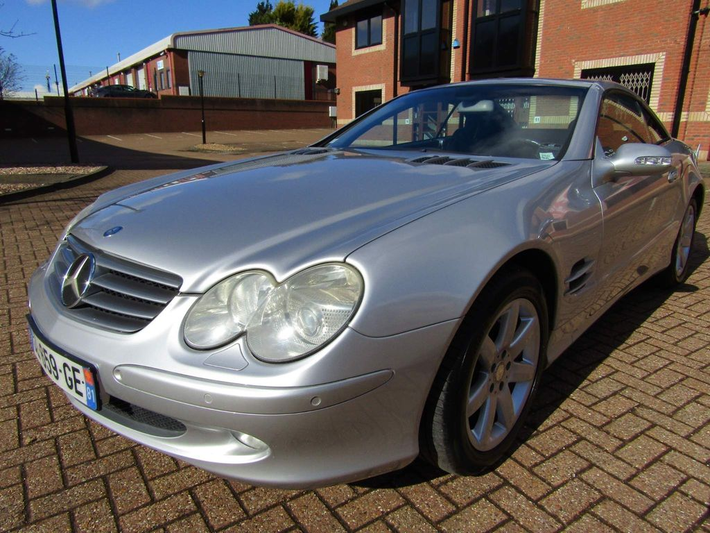 Mercedes-Benz S Class Unlisted SL 500 COVERTIBLE 2 DR AUTO