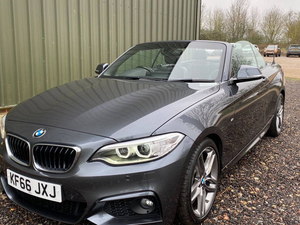 BMW 2 Series Convertible 2.0 220i M Sport Auto (s/s) 2dr