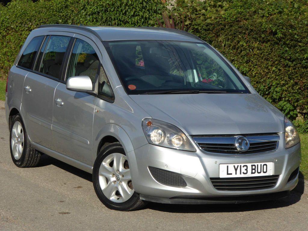 Vauxhall Zafira MPV 1.7 CDTi ecoFLEX Exclusiv 5dr (SNav)