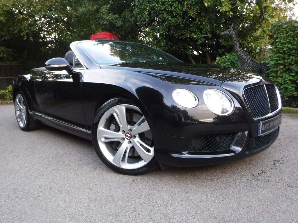 Bentley Continental Convertible 4.0 V8 GTC Auto 4WD 2dr (EU5)