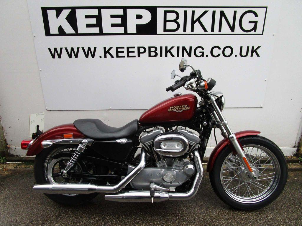 Harley-Davidson Sportster Custom Cruiser 883 XL Sportster Low