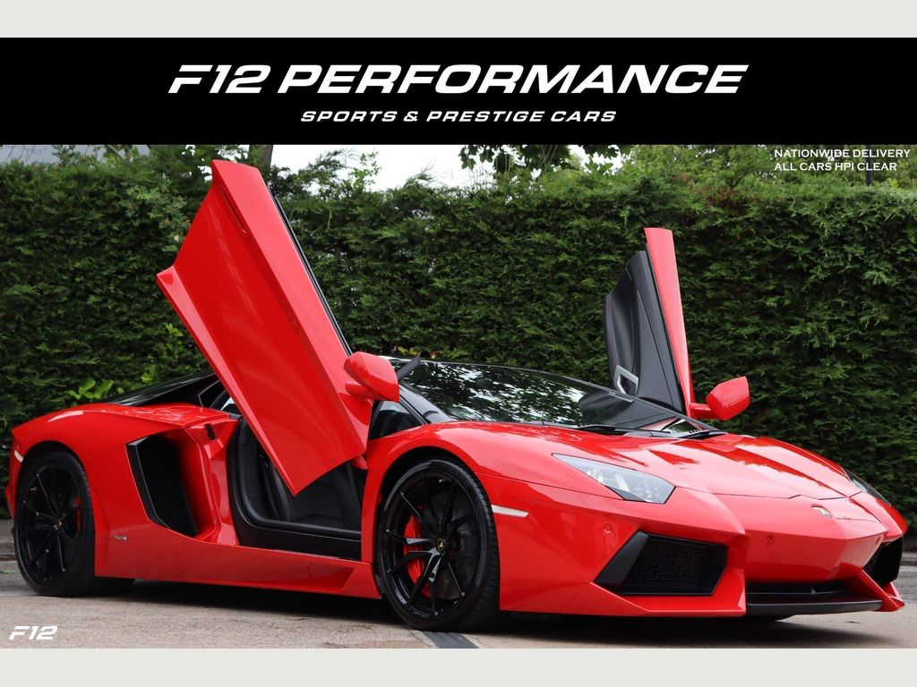 Lamborghini Aventador Coupe 6.5 V12 LP 700-4 ISR 4WD 2dr EU5