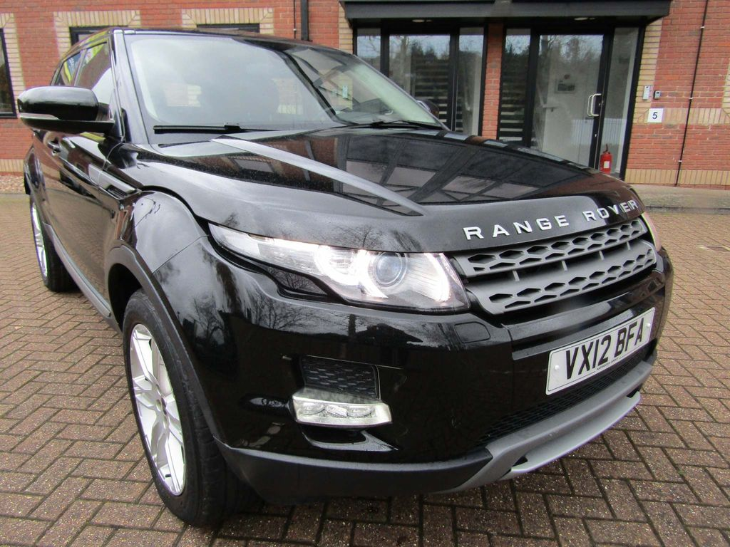 Land Rover Range Rover Evoque Unlisted 2.2 eD4 SE 5 DR 6 SPEED MANUAL 5 DR