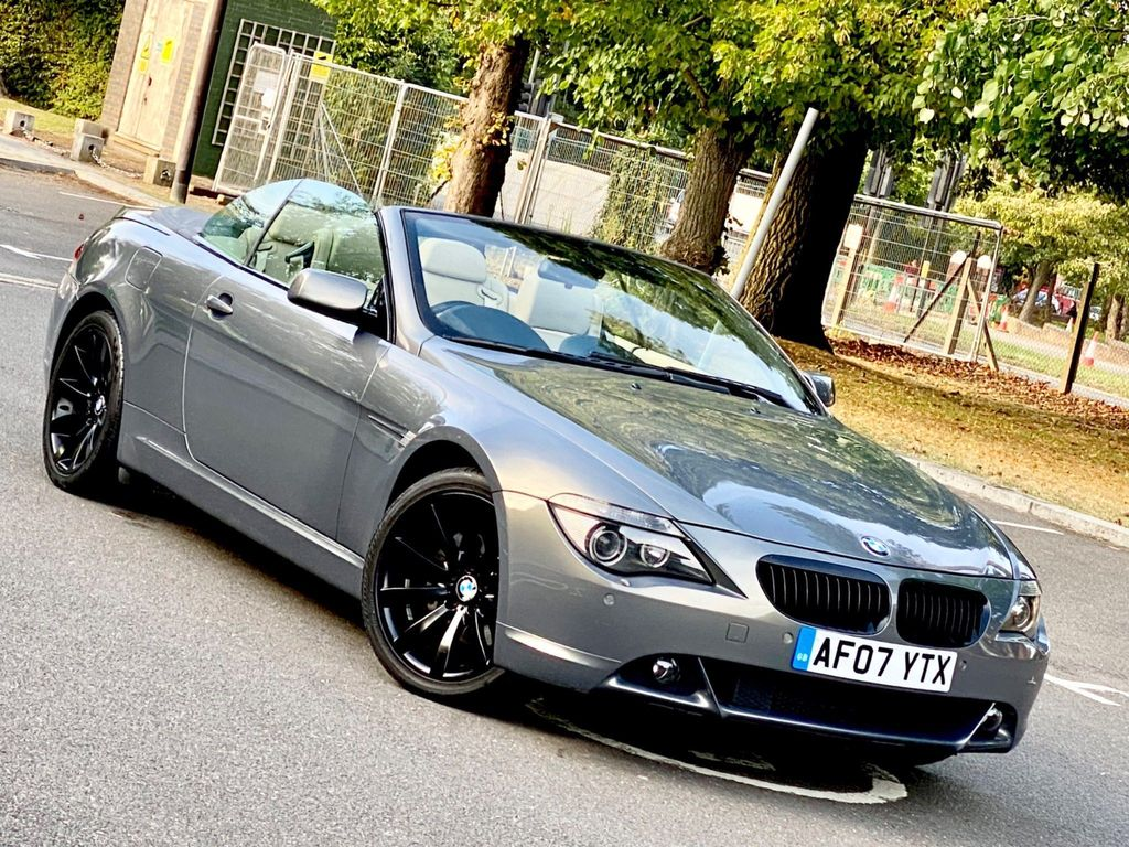 BMW 6 Series Convertible 3.0 630i Sport Edition 2dr