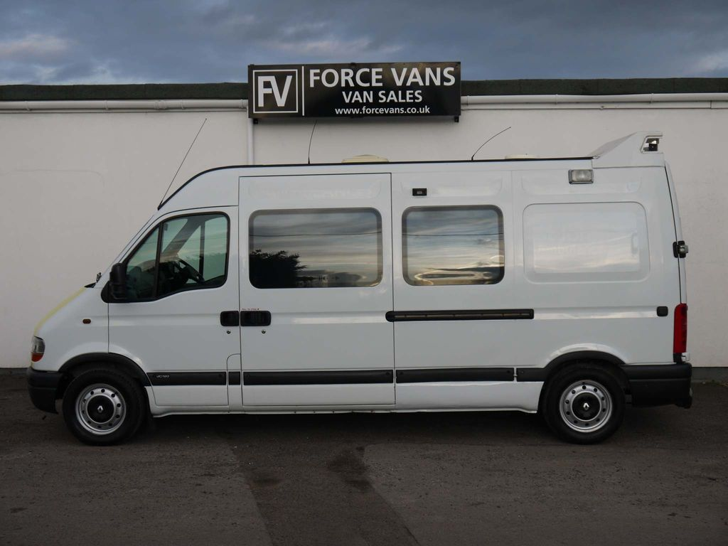 Renault Master Panel Van ST JOHNS MOTOX DISABLED CAMPER MOTORHOME