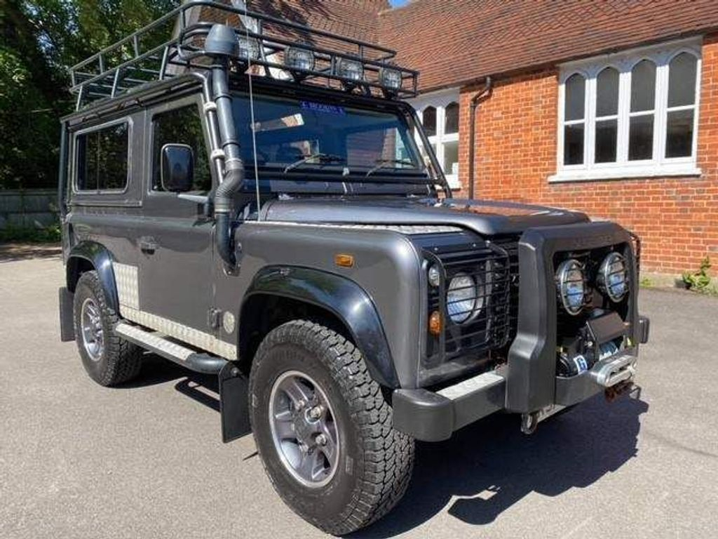 Land Rover Defender 90 Unlisted Tomb Raider