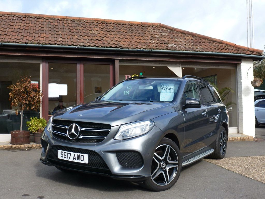 Mercedes-Benz GLE Class SUV 3.0 GLE350d V6 AMG Line (Premium Plus) G-Tronic 4MATIC (s/s) 5dr