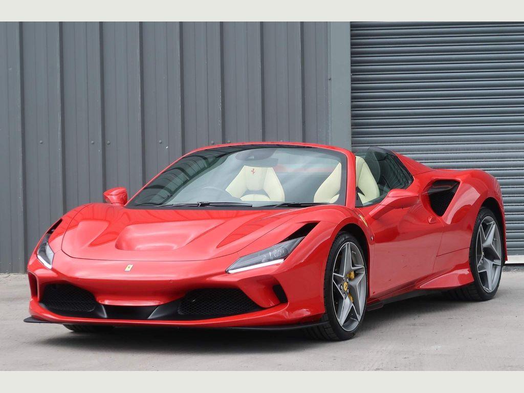 Ferrari F8 Spider Convertible 3.9T V8 Spider F1 DCT (s/s) 2dr