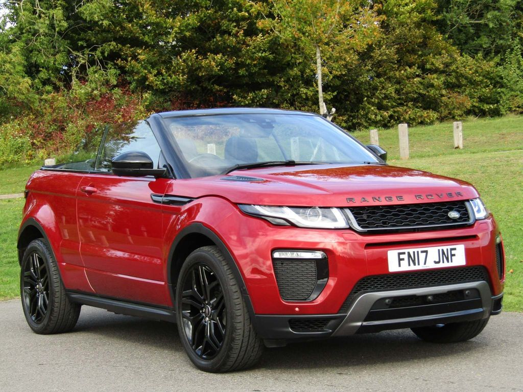 Used Land Rover Range Rover Evoque Convertible 2 0 Td4 Hse Dynamic Lux Auto 4wd S S 2dr In Basingstoke Hampshire Kempshott Cars