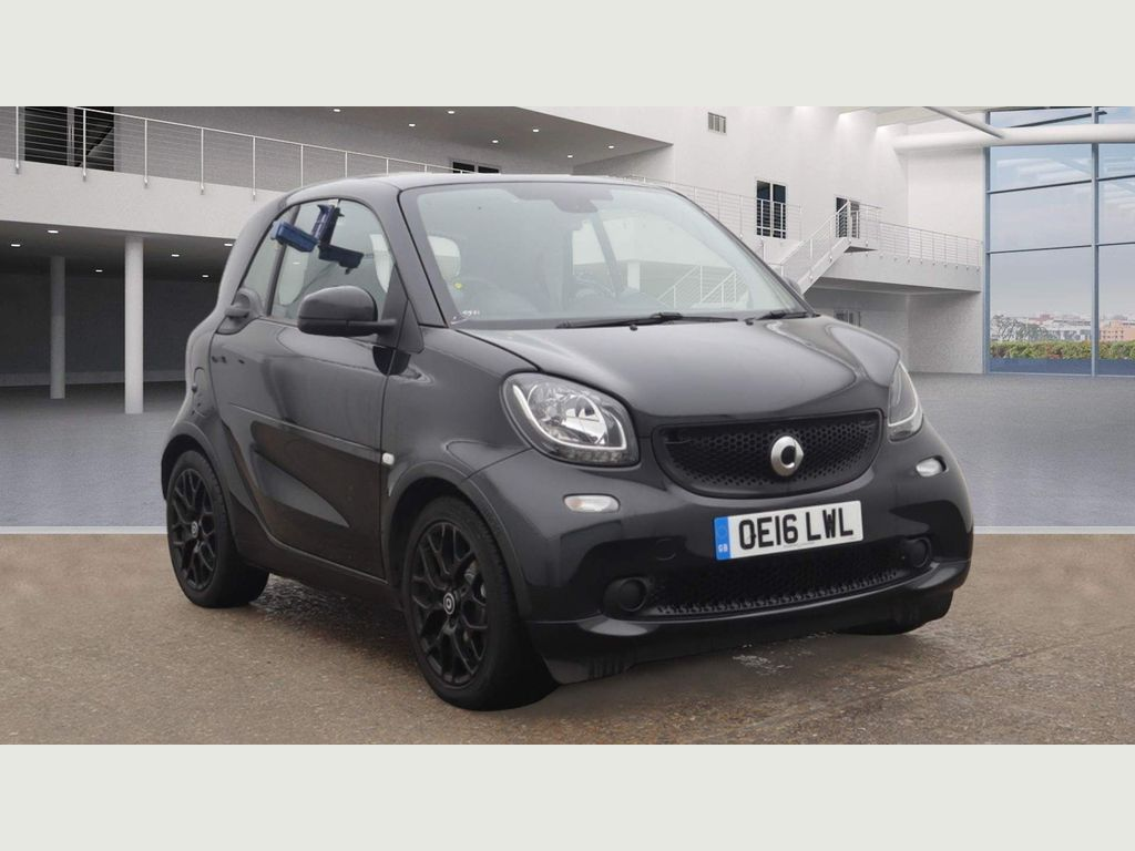Smart fortwo Coupe 0.9T Edition Black Twinamic (s/s) 2dr