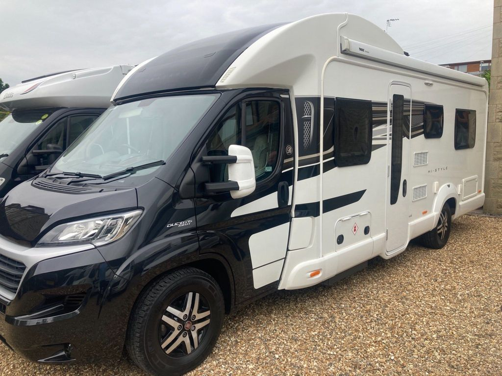 Swift Bessacarr 496 Coach Built AUTO 6 BERTH 6 BELTS HAB AIR CON DELIVERY POSSIBLE