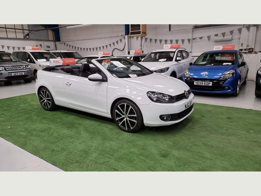 Volkswagen Golf Convertible 1.4 TSI GT Cabriolet 2dr
