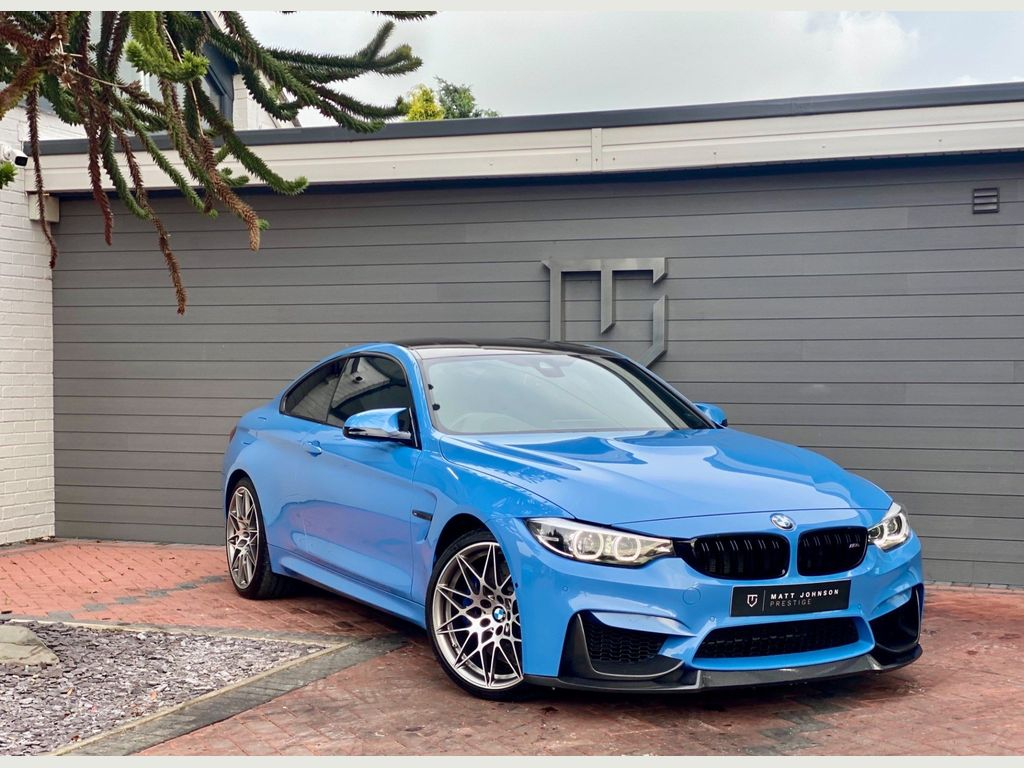 BMW M4 Coupe 3.0 BiTurbo GPF Competition DCT (s/s) 2dr