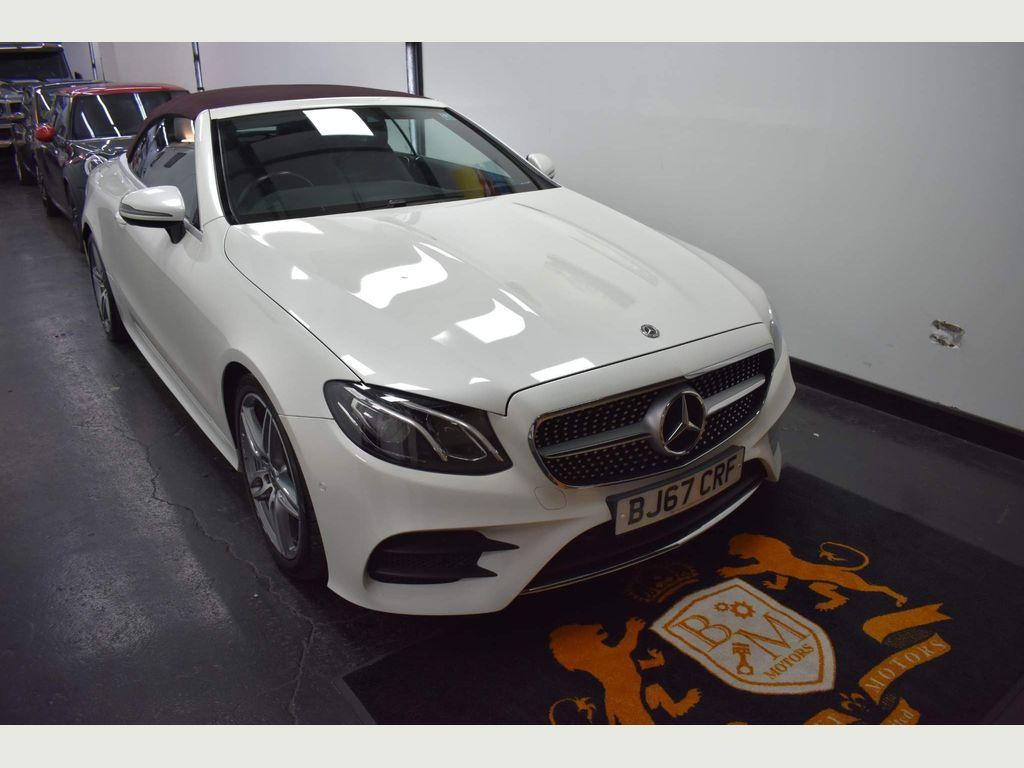 Mercedes-Benz E Class Convertible 2.0 E220d AMG Line Cabriolet G-Tronic+ (s/s) 2dr