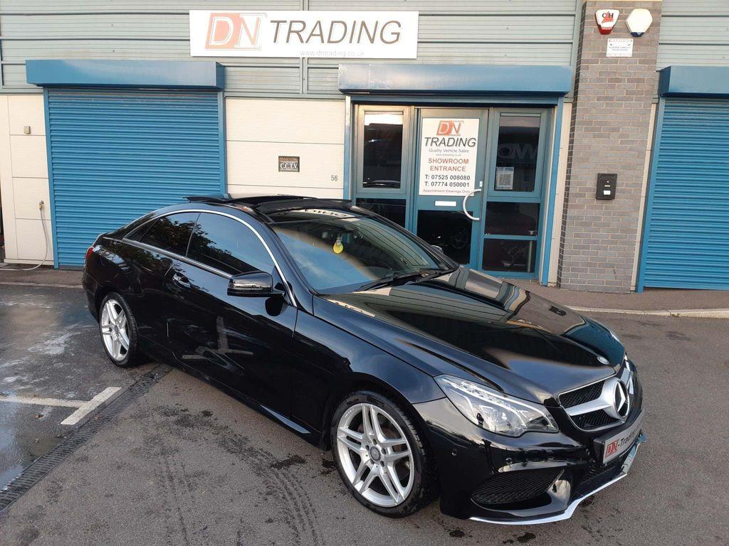 Mercedes-Benz E Class Coupe 3.0 E350 CDI BlueTEC AMG Line (Premium) 9G-Tronic Plus (s/s) 2dr