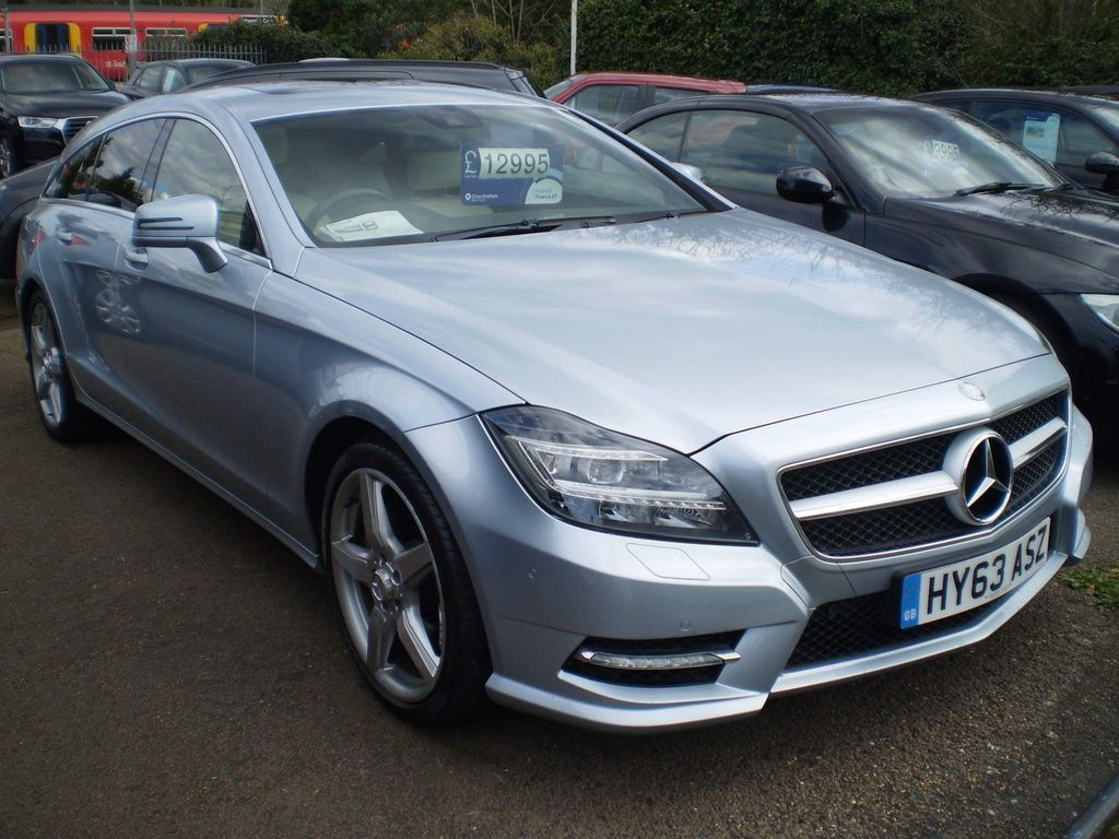 Mercedes-Benz CLS Estate 3.0 CLS350 CDI BlueEFFICIENCY AMG Sport Shooting Brake 7G-Tronic Plus 5dr