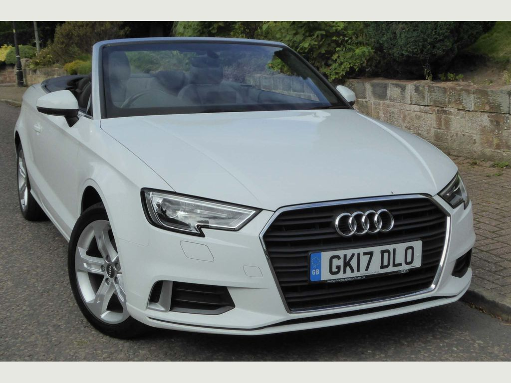 Audi A3 Cabriolet Convertible 1.4 TFSI CoD Sport Cabriolet (s/s) 2dr