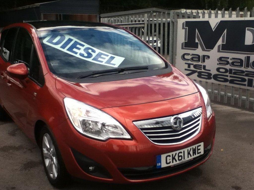 Vauxhall Meriva MPV 1.7 CDTi 16v SE 5dr (a/c)