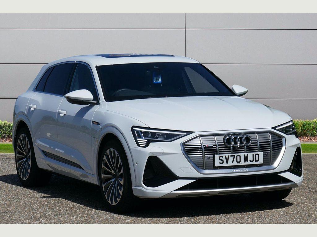 Audi e-tron SUV 50 S line Auto quattro 5dr 71.2kWh