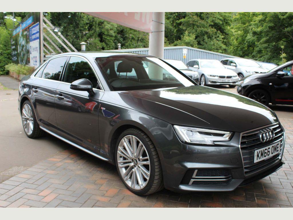 Audi A4 Saloon 3.0 TDI V6 S line Tiptronic quattro (s/s) 4dr