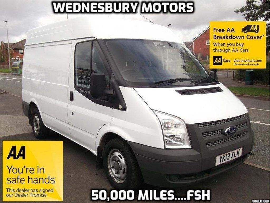 FORD TRANSIT Panel Van 280SWB Medium Roof, 100ps 6 speed