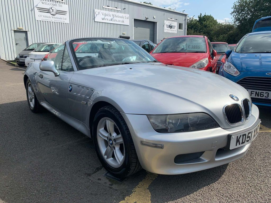 BMW Z3 Convertible 1.9 Roadster 2dr Petrol Manual (187 g/km, 118 bhp)