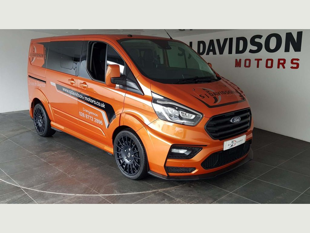 Ford Transit Custom Other 2.0 320 EcoBlue Limited DCIV Auto L1 H1 EU6 (s/s) 5dr (6 Seat)