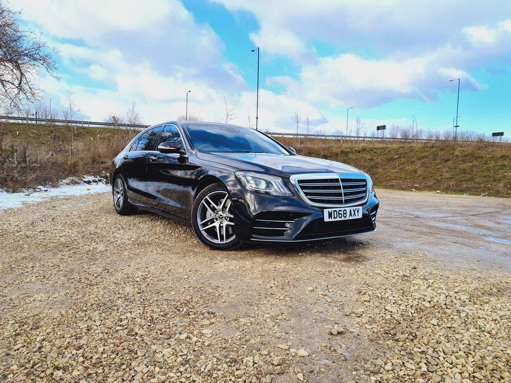 Mercedes-Benz S Class Saloon 3.0 S350L d AMG Line G-Tronic+ (s/s) 4dr