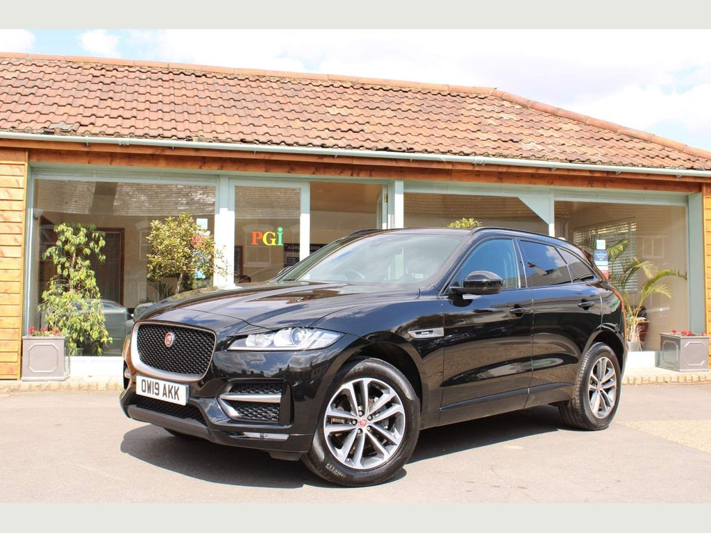 Jaguar F-PACE SUV 2.0i R-Sport Auto AWD (s/s) 5dr