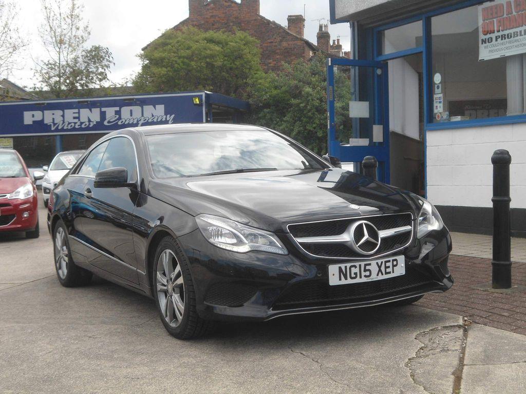 Mercedes-Benz E Class Coupe 2.1 E220 CDI BlueTEC SE 7G-Tronic Plus 2dr