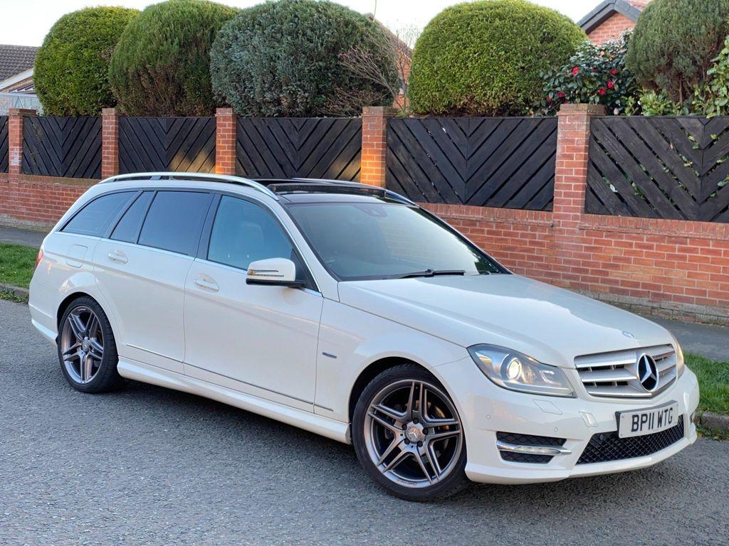 Mercedes-Benz C Class Estate 2.1 C220 CDI BlueEFFICIENCY Sport G-Tronic 5dr