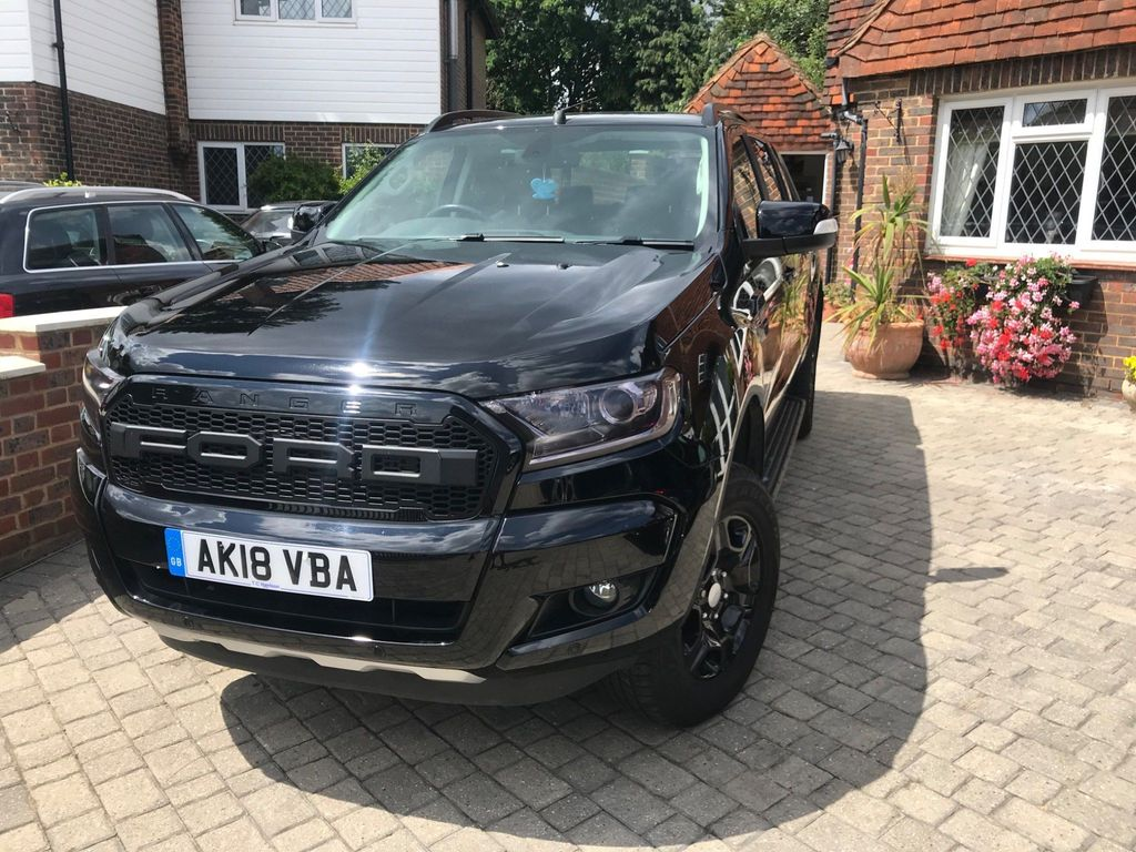 Ford Unlisted Unlisted black edition