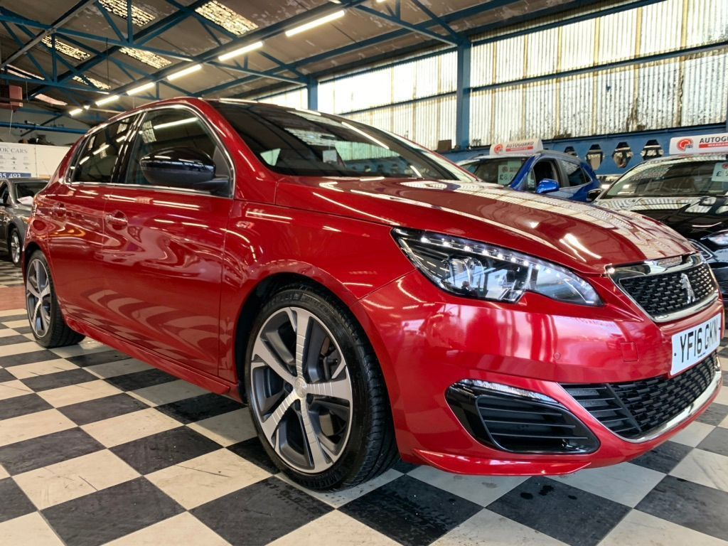 Peugeot 308 Hatchback 1.6 THP GTi 250 by PS (s/s) 5dr