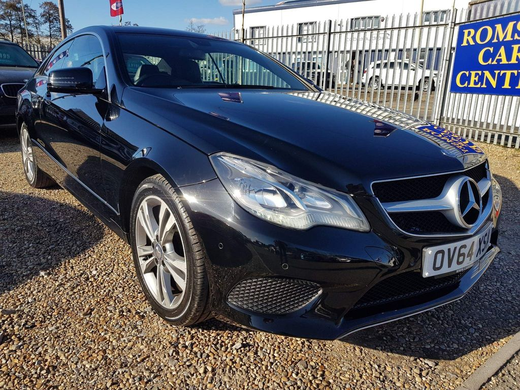 Mercedes-Benz E Class Coupe 2.1 E220 CDI BlueTEC SE 7G-Tronic Plus 2dr